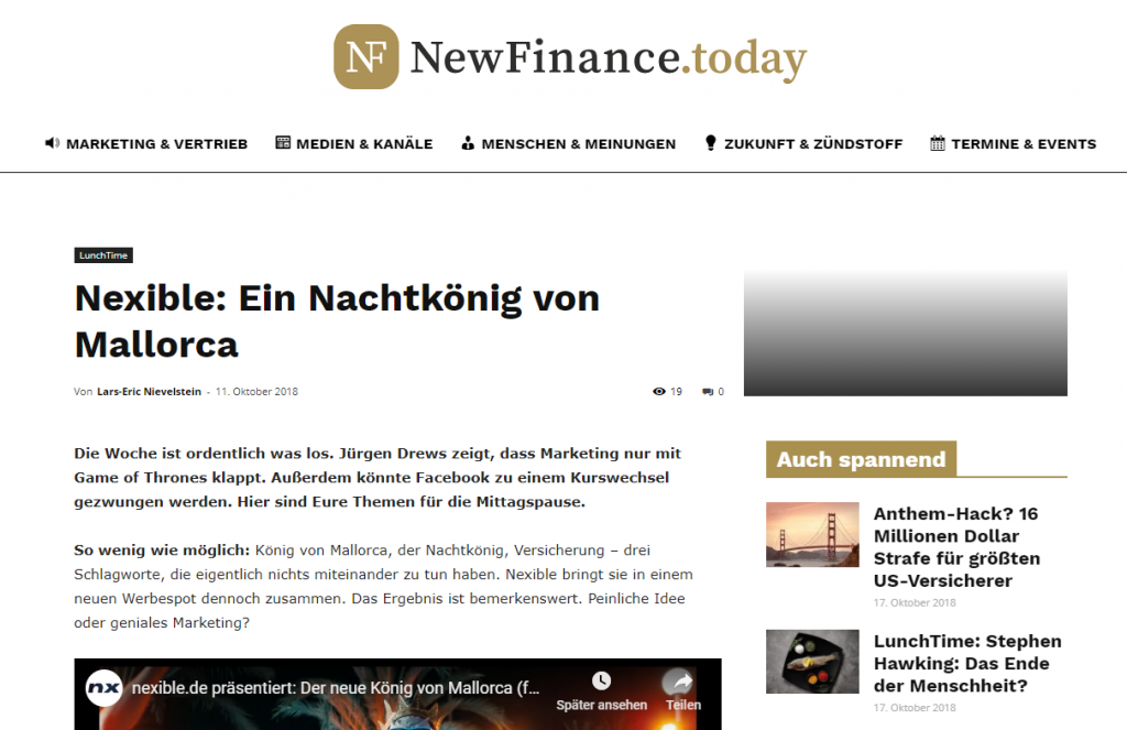 newfinancetoday nexible nachtkönig