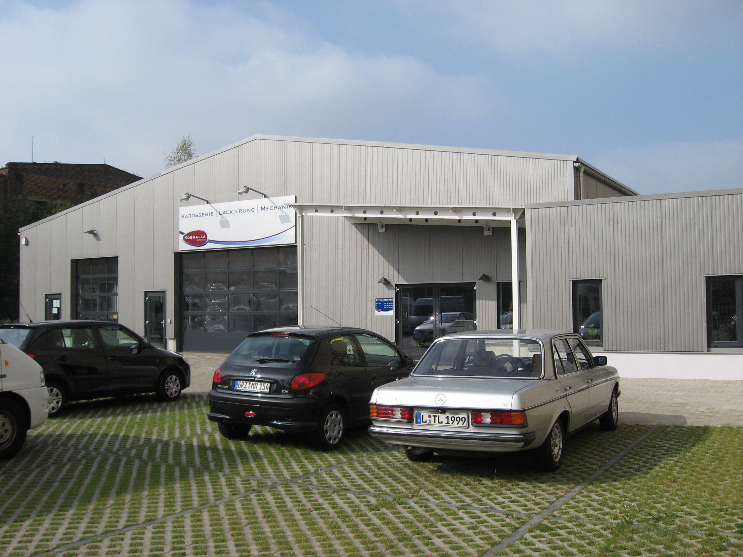 Autohof Kosmalla Werkstatt in Leipzig